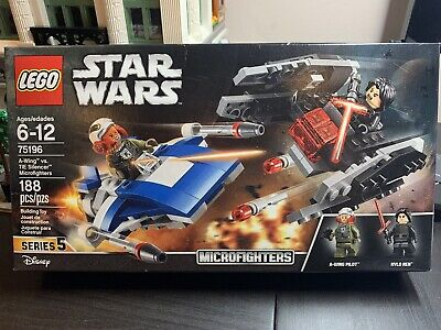 LEGO Star wars 75195 A-Wing vs. TIE Silencer Microfighters Kylo Ren