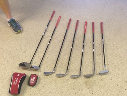 Junior Golf Clubs with Bag and Cart Clear Island Waters Gold Coast City Preview