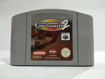 Nintendo N64 Game - Tony Hawks Pro Skater 2 UK/PAL THPS