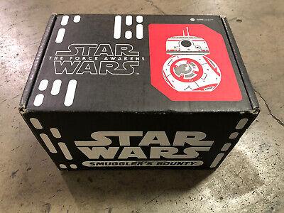 Star Wars Smuggler's Bounty Box Resistance Funko Pop BB-8 Chewbacca