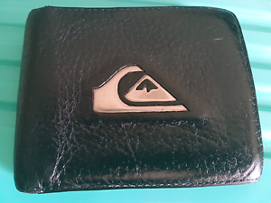 Leather Quiksilver Wallet Safety Bay Rockingham Area Preview