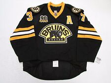 BERGERON BOSTON BRUINS AUTHENTIC THIRD 90th ANNIVERSARY REEBOK EDGE 2.0 JERSEY