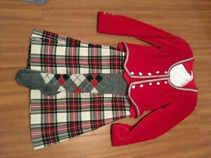 Dress Stewart Highland Dance Outfit
