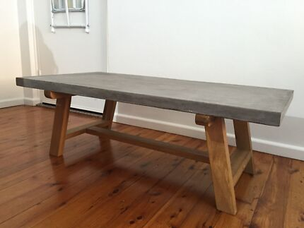 London cement top coffee table Cronulla Sutherland Area Preview