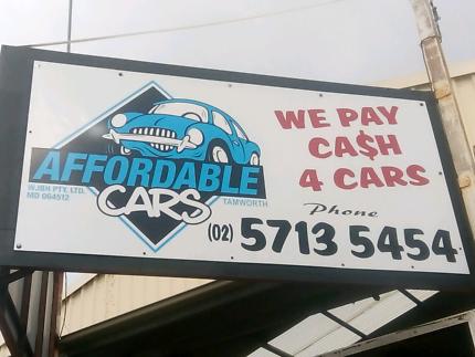 Affordable cars tamworth