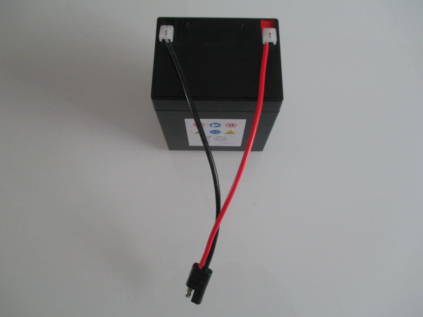 Original Akku für Sabo Rasenmäher 12 V 5,4 Ah Power für fast alle E-Starter