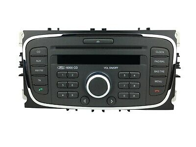 FORD 6000 CD RADIO CD PLAYER FOCUS MONDEO GALAXY S-MAX TRANSIT CONNECT TOURNEO (Ford Cd-player)