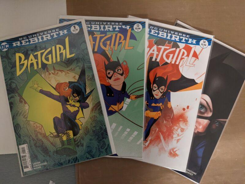Batgirl rebirth variant  comic lot. (4 books total) NM- see pics more for sale.