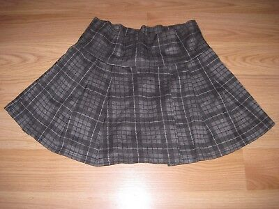 Mind Games Ladies Size L Striped/Plaid Schoolgirl Style Mini Skirt/Free Ship!