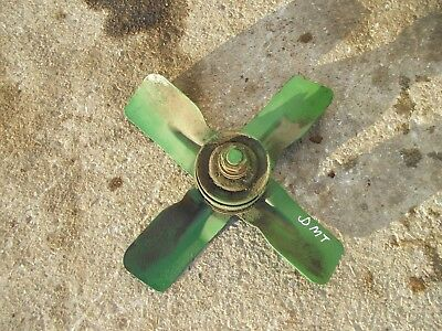 John Deere Mt Tractor Jd Fan Blade Assembly W Pulley