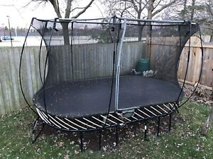 Spring free Trampoline for sale.
