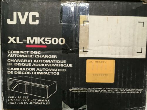 JVC 6-DISC CD CHANGER XL-MK500 WITH WIRE CONNECTOR FOR HEAD, 6-DISC CARTRIDGE
