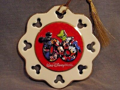 Walt Disney World Ornament - Scalloped - Mickey Mouse Cut Outs - 2006