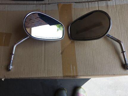 Genuine Harley Davidson Rear View Mirrors-Chrome