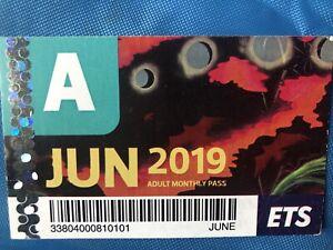 Bus Pass 2019 Adult