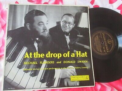 Flanders & Swann At The Drop Of A Hat PMC 1033 UK Mono Vinyl LP Album