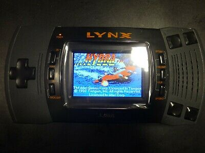 McWill LCD VGA Out Mod Atari Lynx II Handheld System Console Tested Working