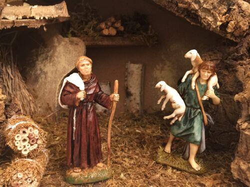 Nativity Scene Village Figurines Landi Presepio Figuras para Pesebre Nacimiento