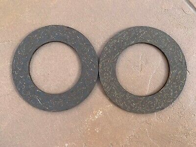 2 Pcs Slip Clutch Disc Friction Lining 5.5x 3.38- Bush Hog 50074042 414