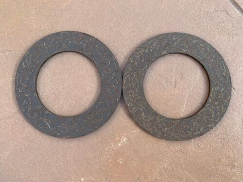 "2 pcs Slip Clutch Disc Lining 5.5""X 3.38""- Fits several different PTO Shafts 414"