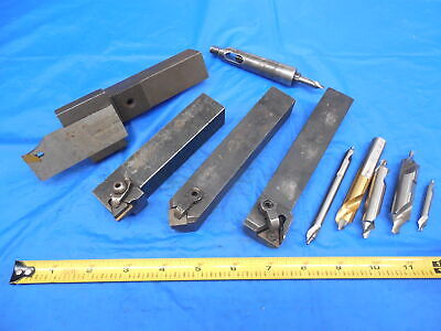 4pc Lot Of 1 Shank Lathe Tool Holders For Engine Lathe Or Cnc Monarch Southbend