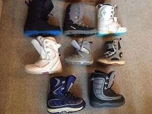 Snowboard boots,bindings,pants,skis,boots,poles