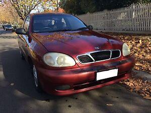 2001 Daewoo Lanos Hatchback Malvern East Stonnington Area Preview