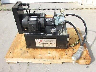 Hydraulic Power Inc. 3 Hp Hydraulic Power Unit 15-gallon Hp1.5vp303e15a