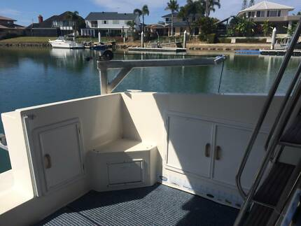 Removable Swinging Davit Crane with RIB Tender Cleveland Redland Area Preview