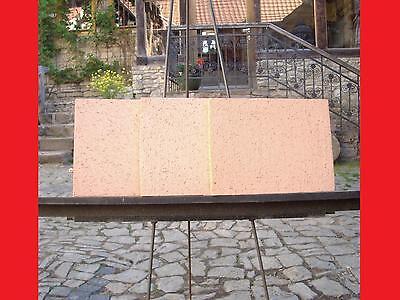 3 X  Echte Schamottsteine Schamotte 400x300x30 Kamin Feuerraum geeignet