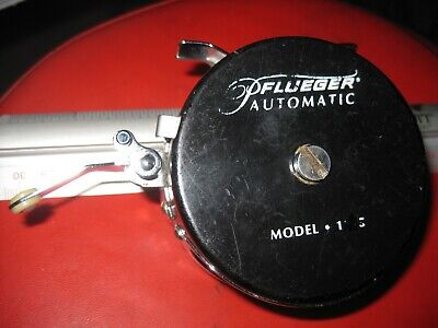 Pflueger Automatic Fly Fishing Reel Model 1195B NOS Aluminum and Stainless