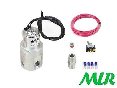 Accusump Presión de Aceite Acumulador Pro Eléctrico Válvula Control Kit