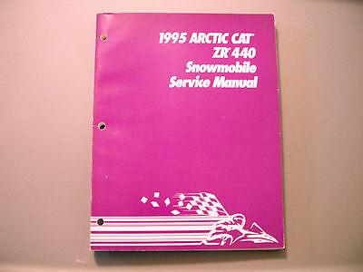 1995 Arctic Cat ZR 440 Service Manual