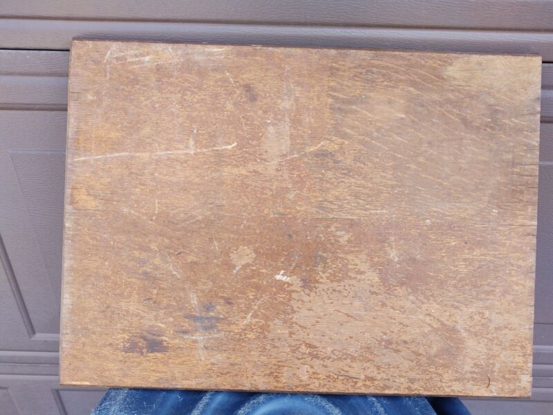 1899 Singer treadle sewing machine cabinet wood top cover