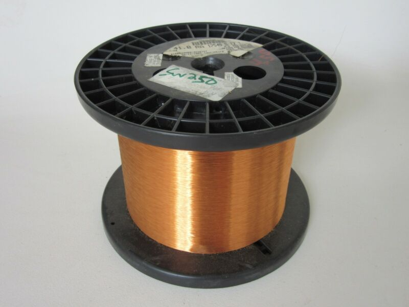 41 AWG   4.55 lbs.  Phelps  Enamel Coated Copper Magnet Wire