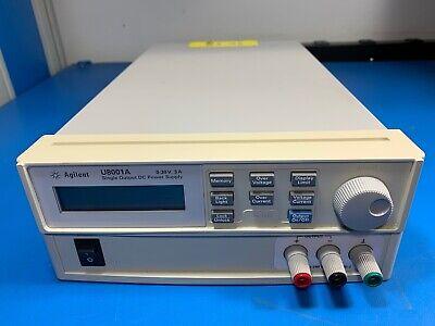Agilent U8001a Single Output Dc Power Supply 0-30v 3a Used