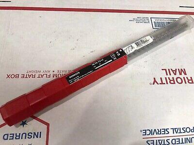 New Hilti 206509 Hammer Drill Bit Te - Yx 12-14 Sds Max Free Shipping