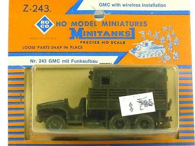 Roco Minitanks Z-243 GMC With Wireless Installation HO Model Miniatures 1:87