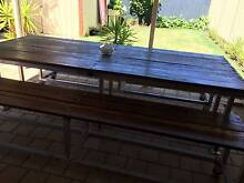 Industrial Jarrah Outdoor Entertainers Table South Plympton Marion Area Preview