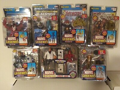 Lot 6 Marvel Legends Bullseye Daredevil Kingpin Falcon Longshot New Sealed