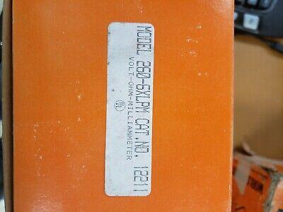 Simpson 260-6xlpm Vom Simpson Electric 12211