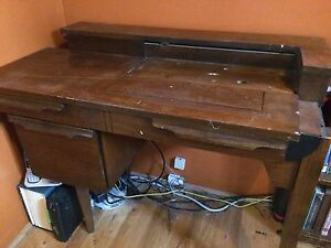 Sewing Machine Desk with Drawer
