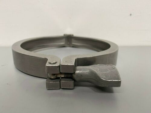 """Tri-Clover Double-Pin Heavy Duty Stainless Steel 6"""" Clamps"""