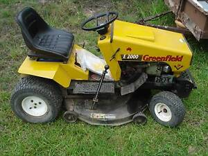 Greenfield Ride On Mower Nabiac Great Lakes Area Preview