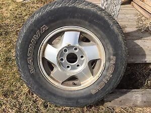 "Chevy / GMC 16"" Rim and Tire"
