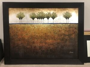 Trees on the Horizon - Artwork painting