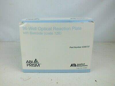 Qty 20 Applied Biosystems 4306737 96-well Optical Reaction Plate Abi Prism