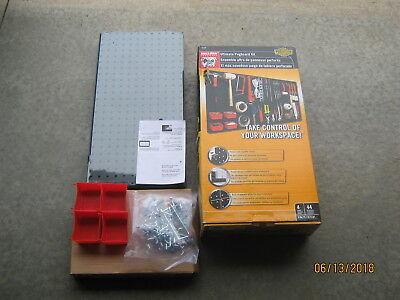 Bulldog Hardware Ultimate Pegboard Kit Pegasystem 4 Panels Po-280 Free Shipping