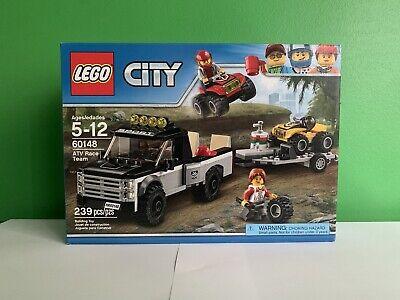 Lego City ATV Race Team Set, New In Box (Item Number 60148) (239 pcs)