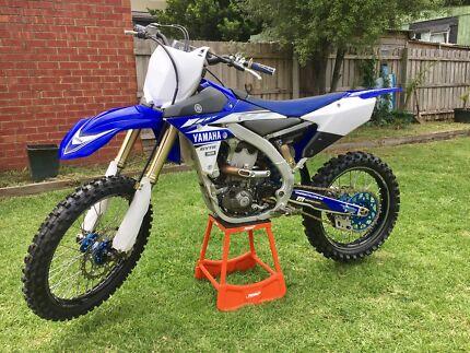 2017 Yamaha, yz450f,